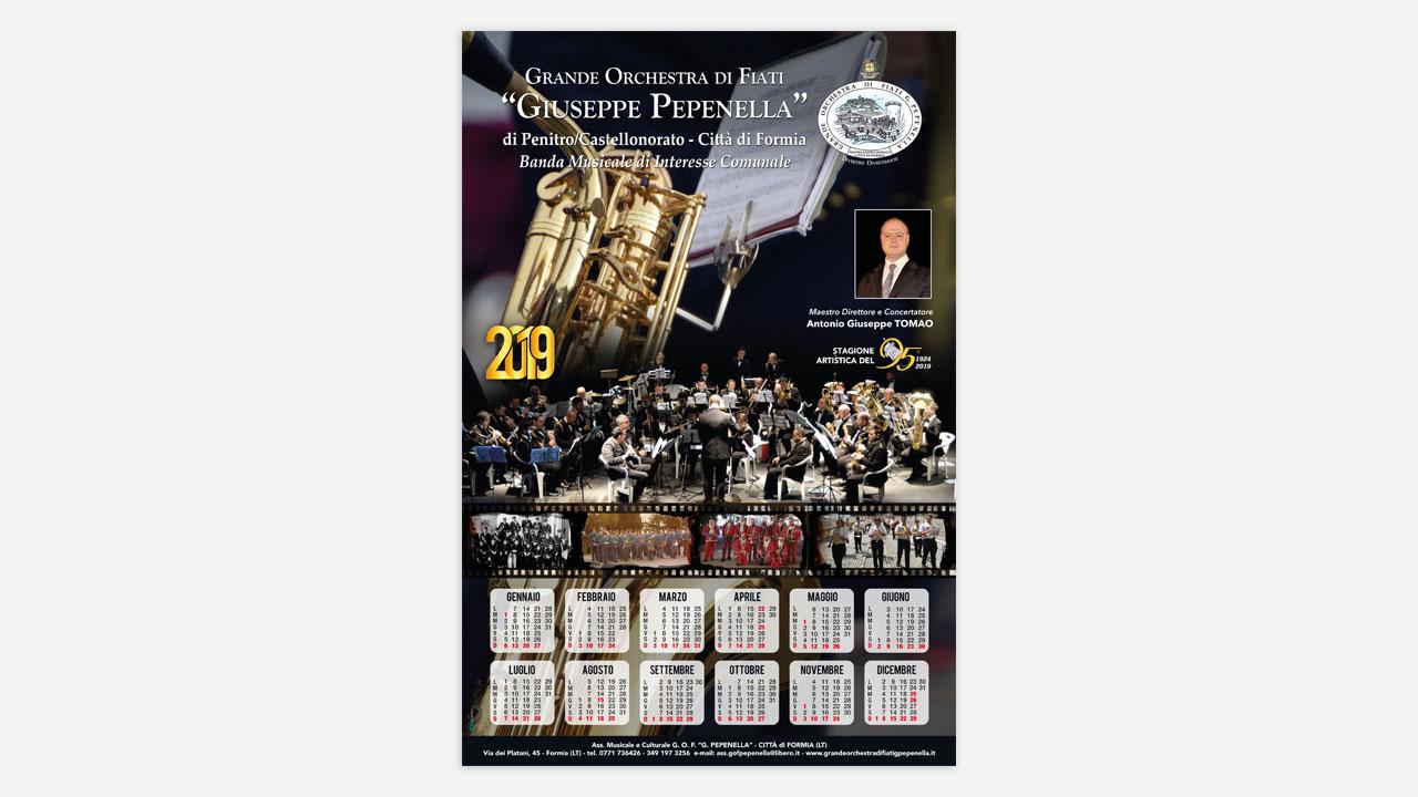 orchestra pepenella calendario eligrafica