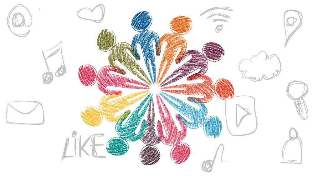 social media eligrafica