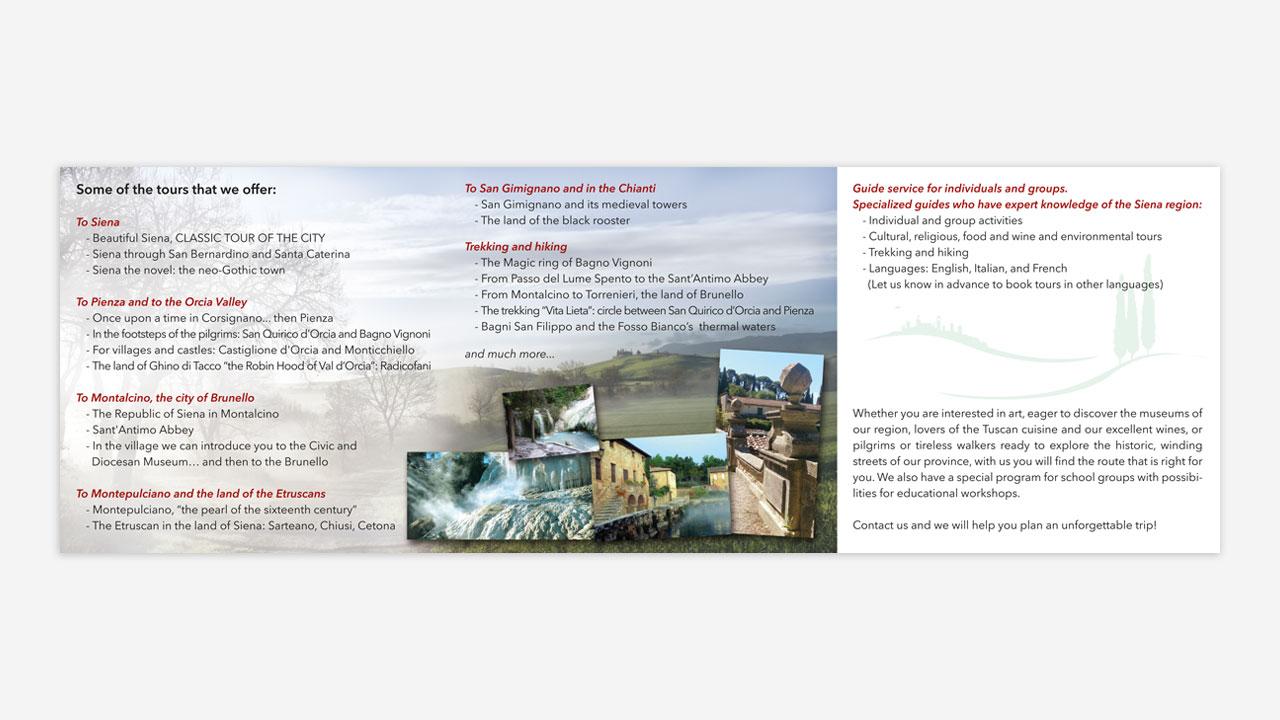 val d orcia tour brochure eligrafica 2