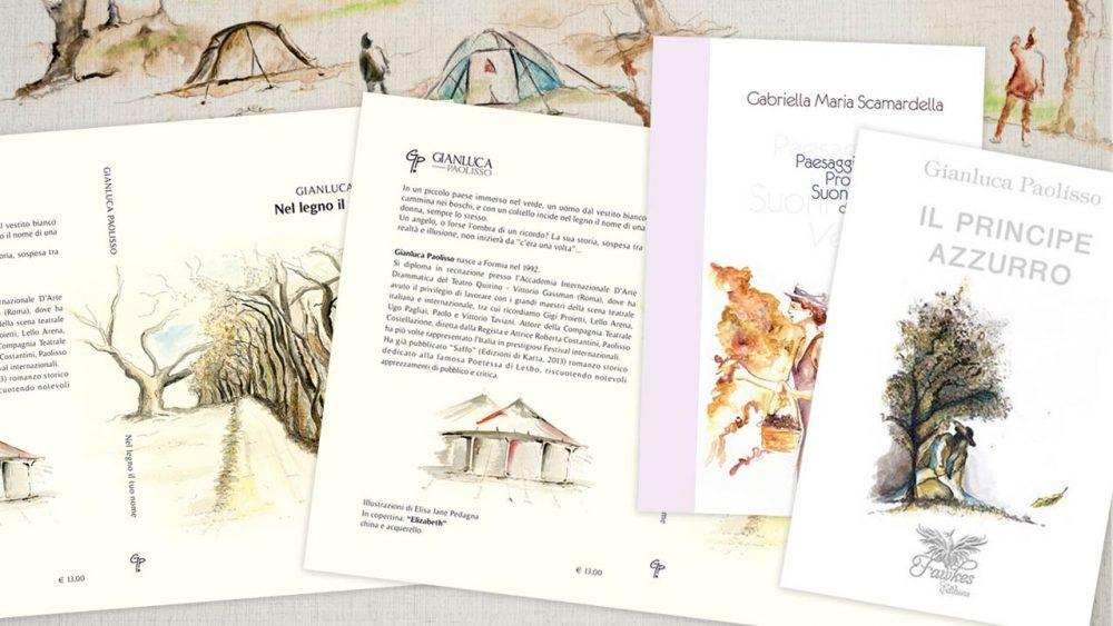 Illustrare la copertina di un libro eligrafica formia