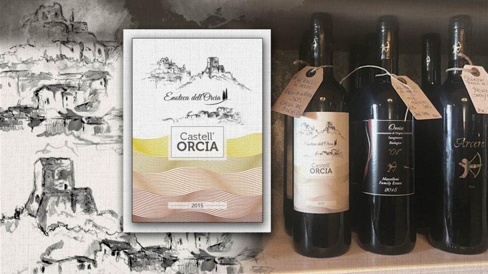 etichetta vino castell'orcia eligrafica formia