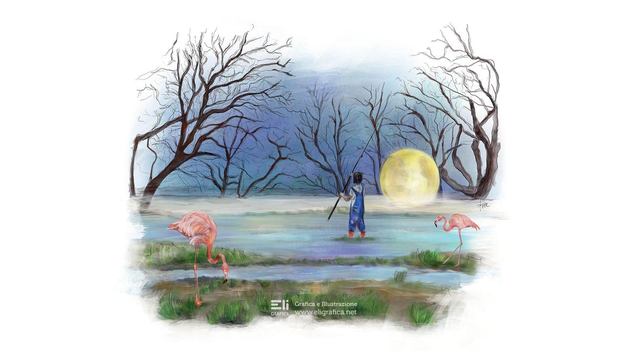 Alcide illustrazione copertina eligrafica jean luis lopez
