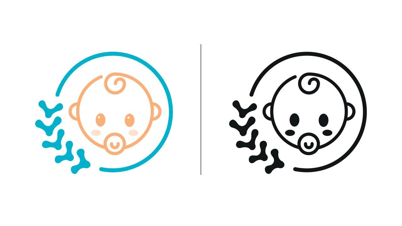 osteobimbi logo eligrafica elisa