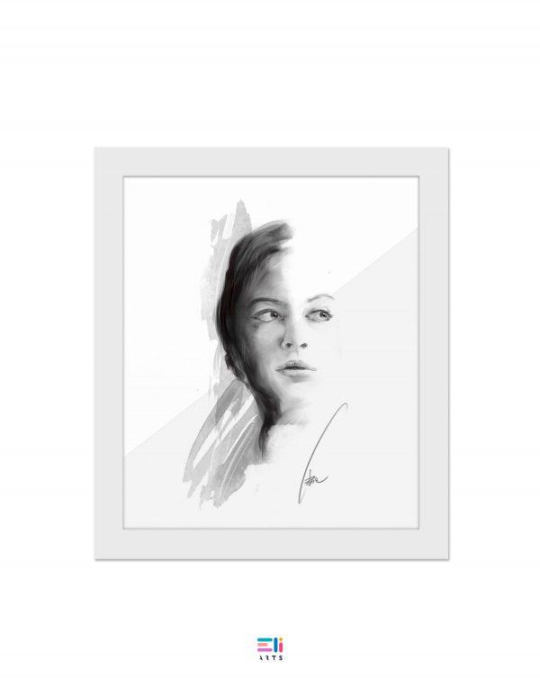 ritratto di donna eliarts fine art