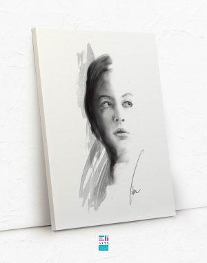 ritratto di donna fine art eliarts eligrafica elisa