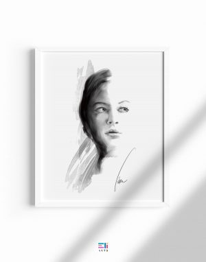 ritratto di donna fine art eligrafica formia