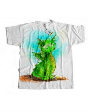 t-shirt arthus draghetto eligrafica