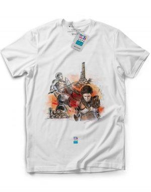 t-shirt venamon eligrafica eliarts