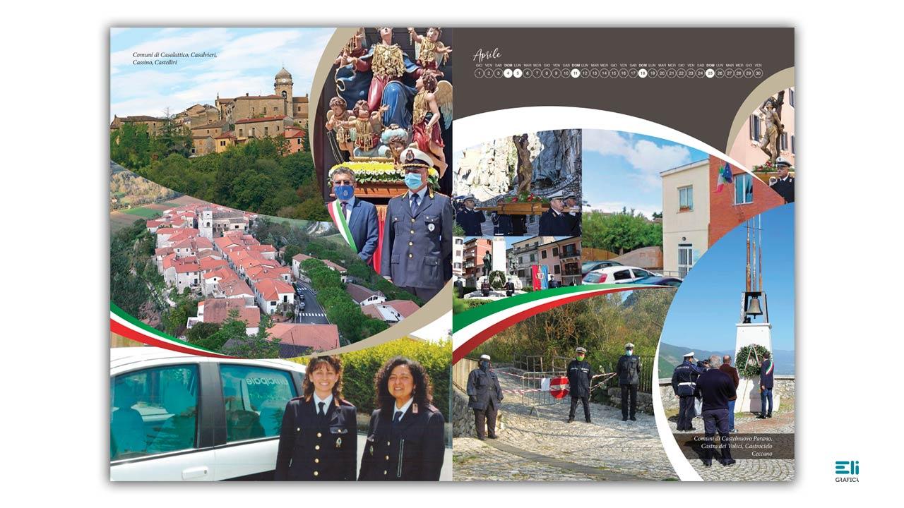 calendario delle polizie locali di frosinone 2021 eligrafica 7