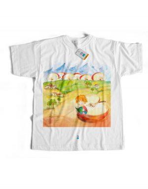 t-shirt arthus marlene eligrafica