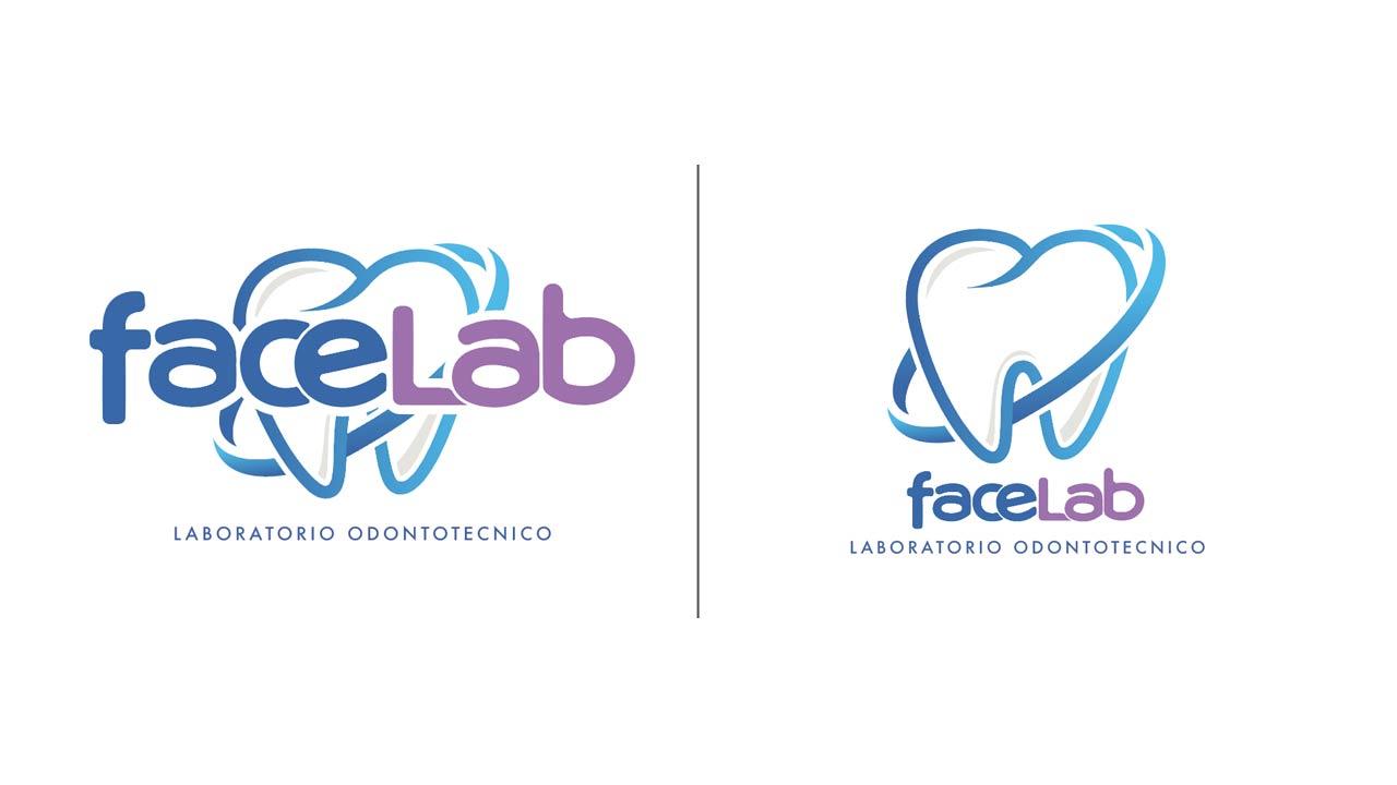 FaceLab progettazione logo eligrafica formia