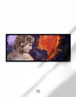 mondo infuocato fine-art eliarts eligrafica formia