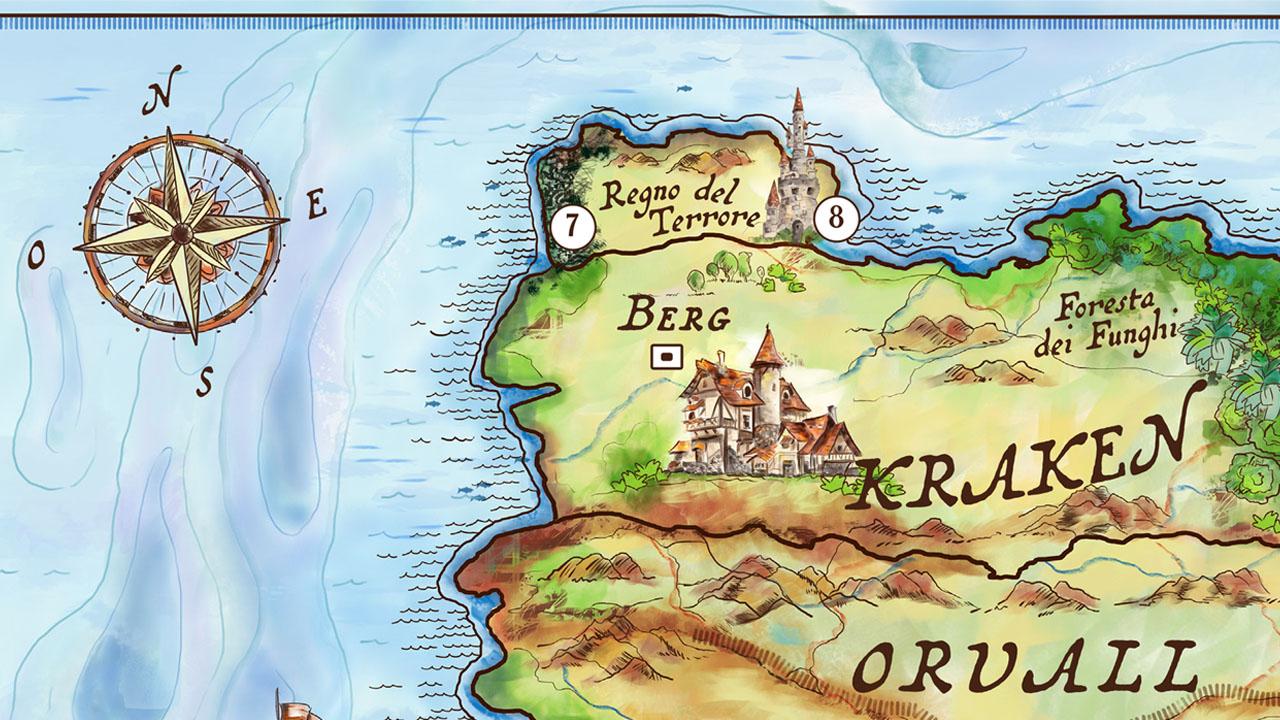 cartina fantasy illustrata eligrafica 4