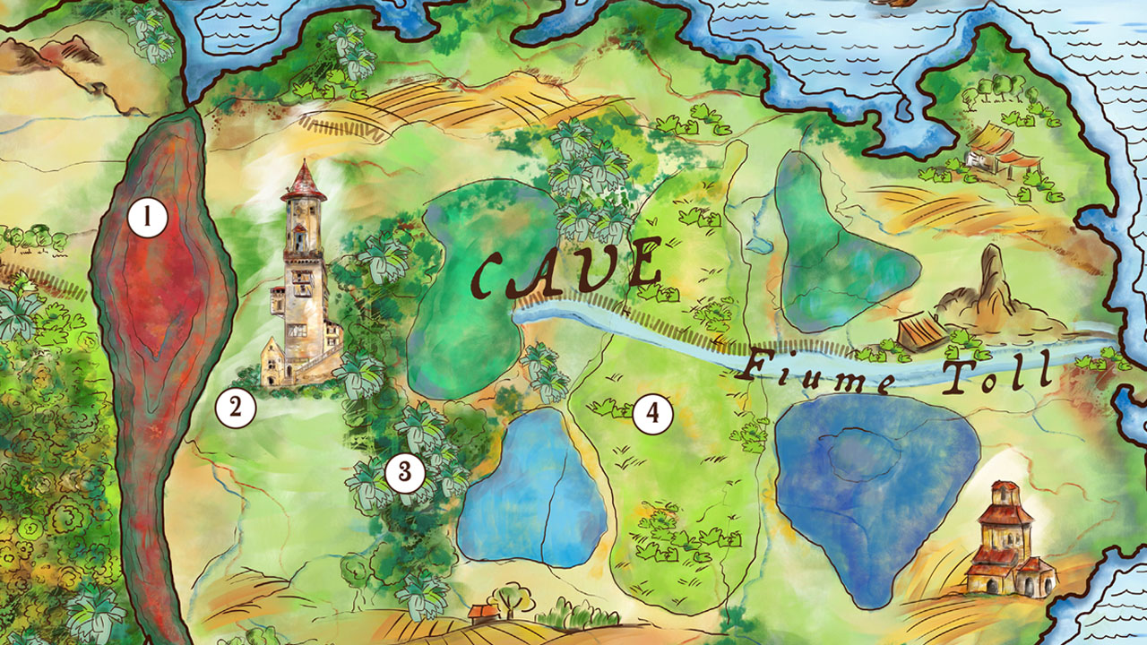 mappa fantasy illustrata eligrafica 6
