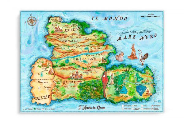 Mappa Fantasy
