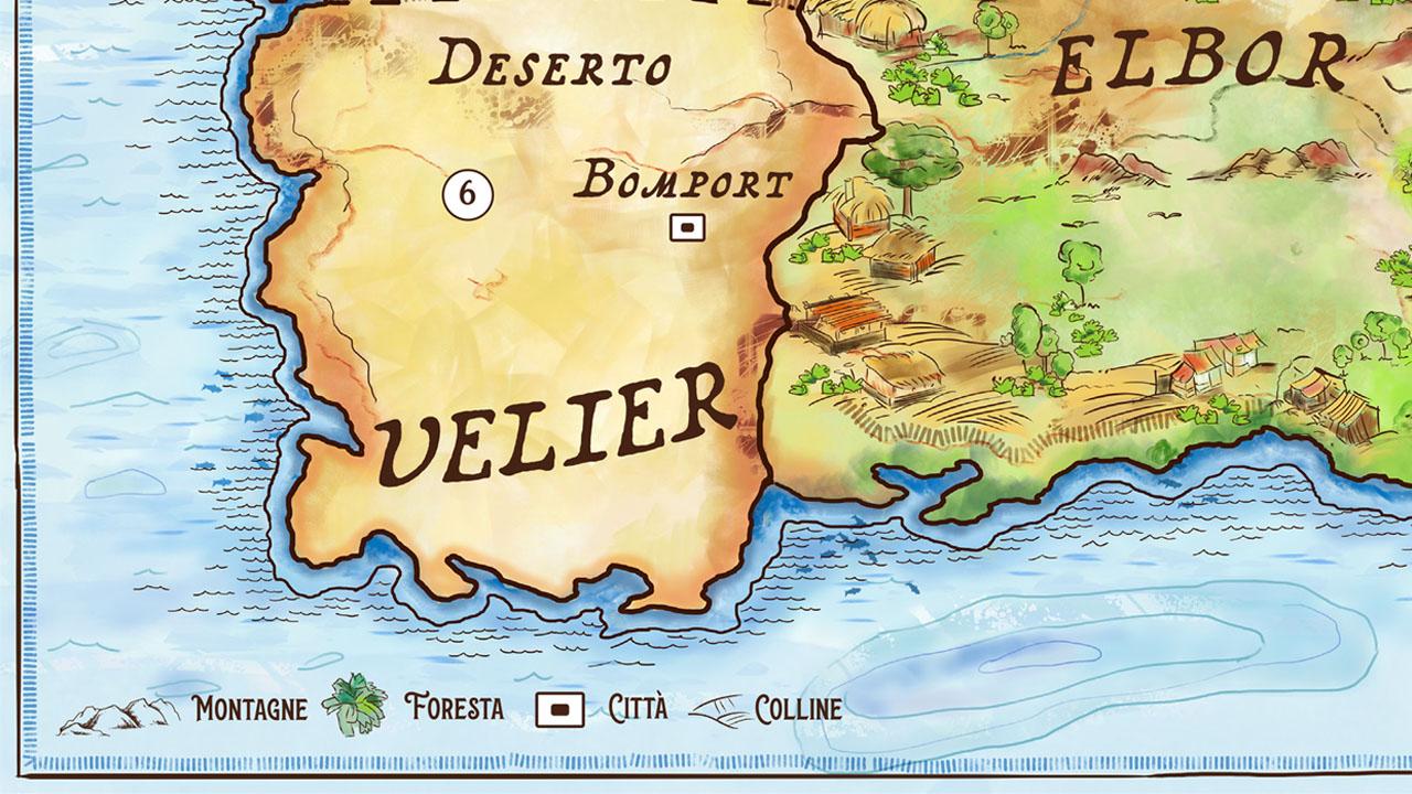 mappa fantasy illustrata eligrafica 7