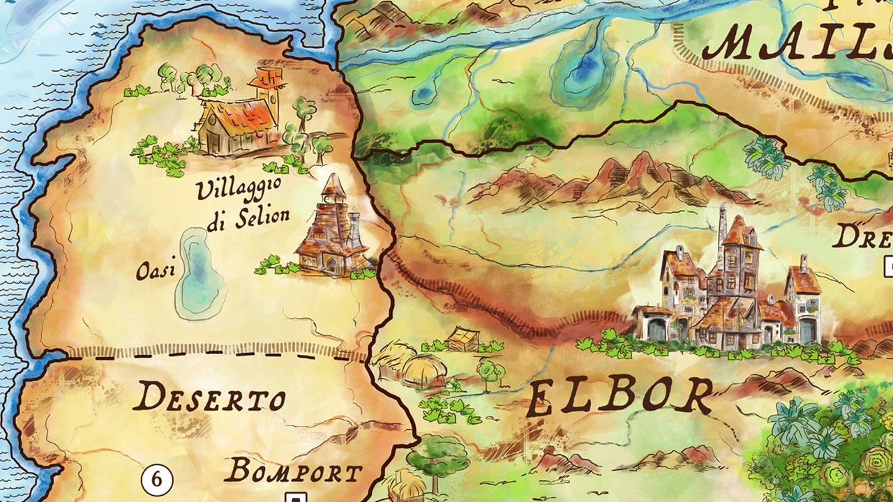 mappa fantasy illustrata eligrafica 8