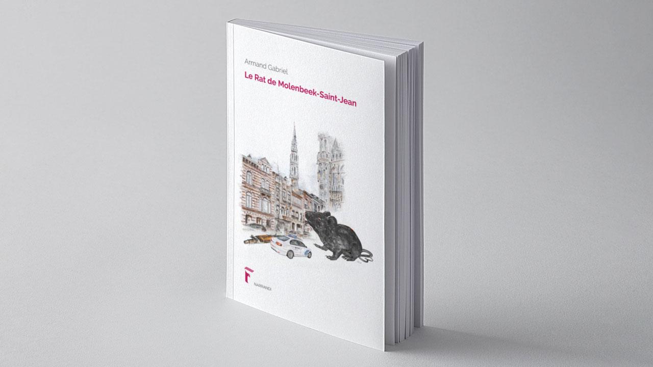 le rat de molenbeek cover illustration eligrafica