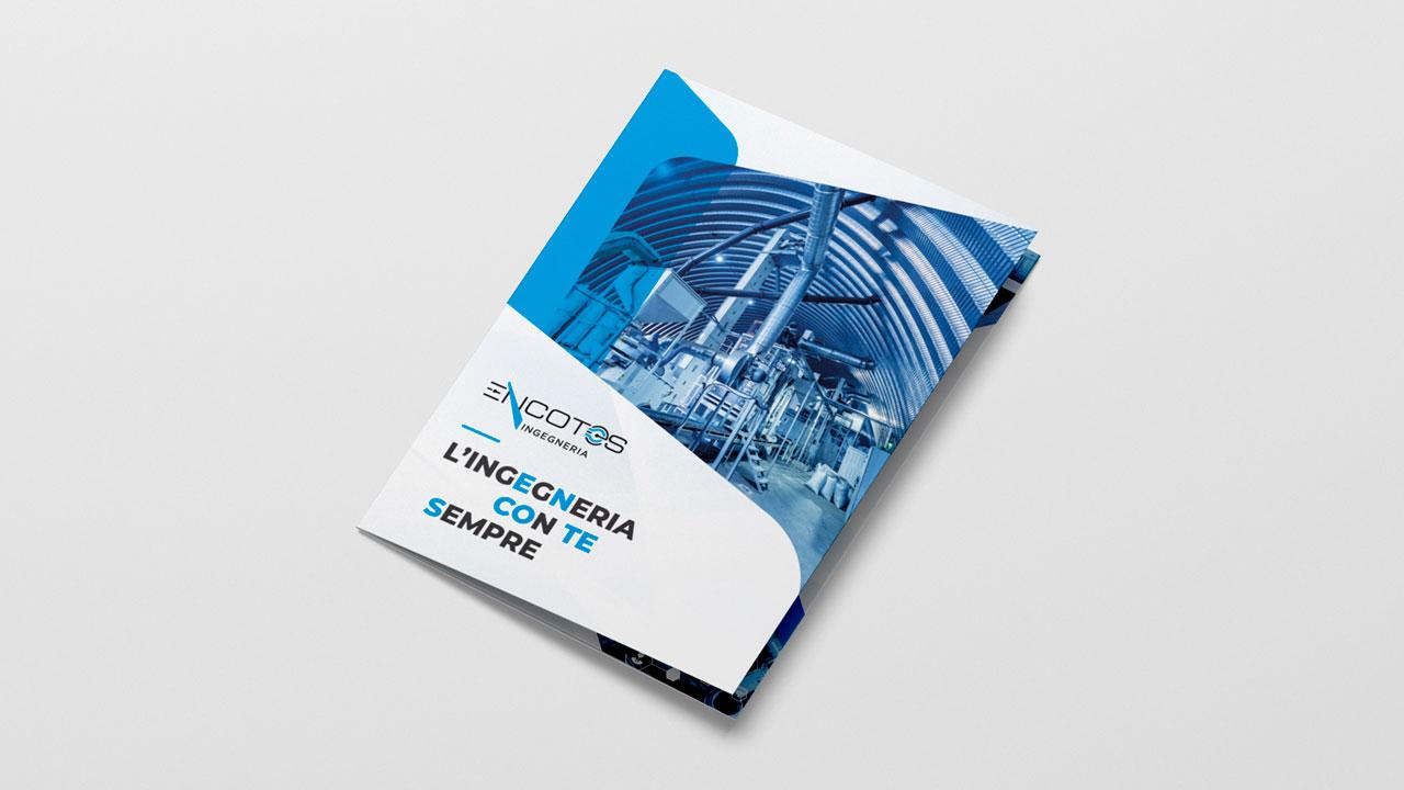 encotes brochure aziendale eligrafica elisa formia grafica