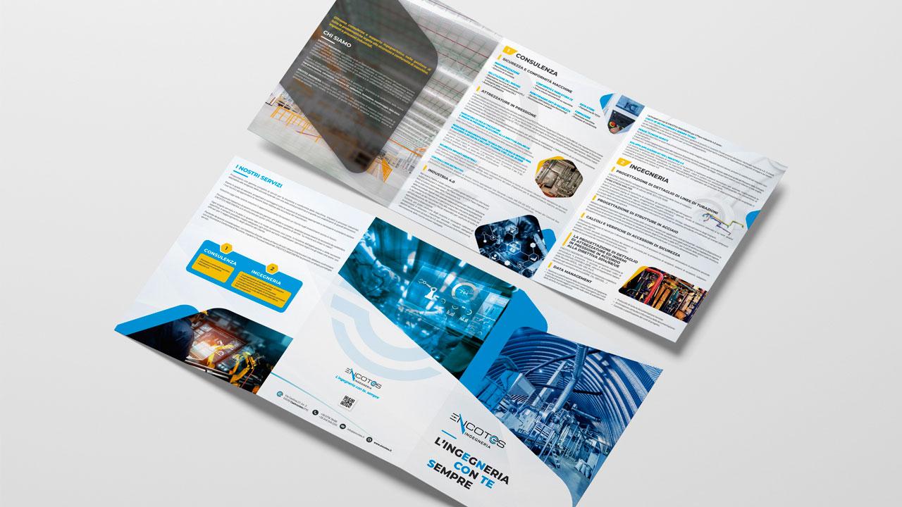 encotes brochure aziendale eligrafica elisa formia